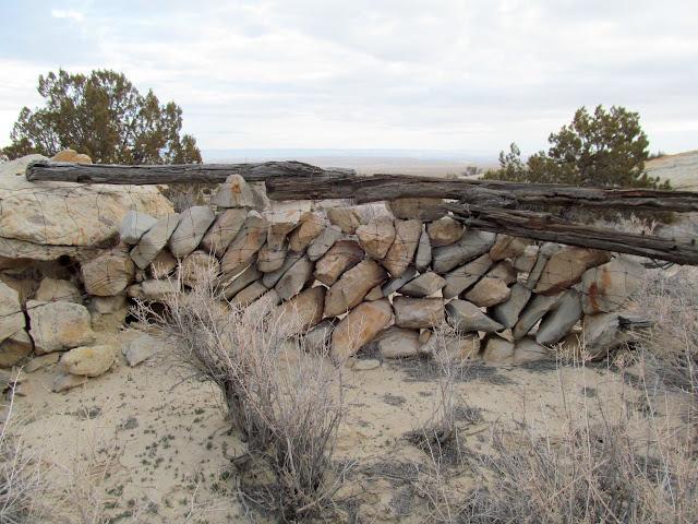 Rock wall near Fallen Rock Alcove