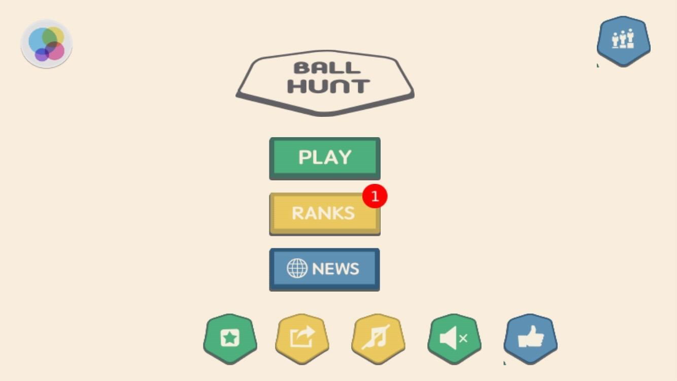 Knock Down : Ball Hunt- screenshot