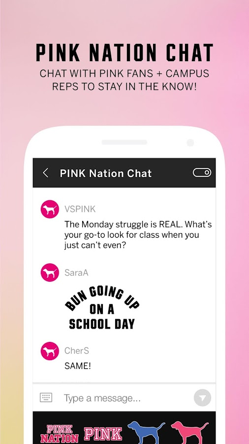 PINK Nation- screenshot