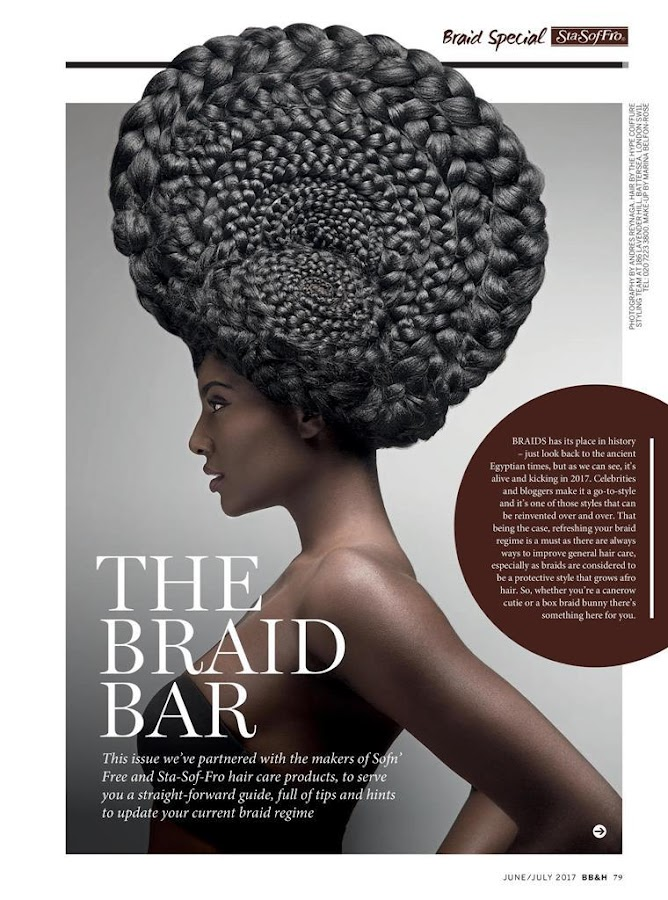 Black Beauty & Hair magazine- screenshot