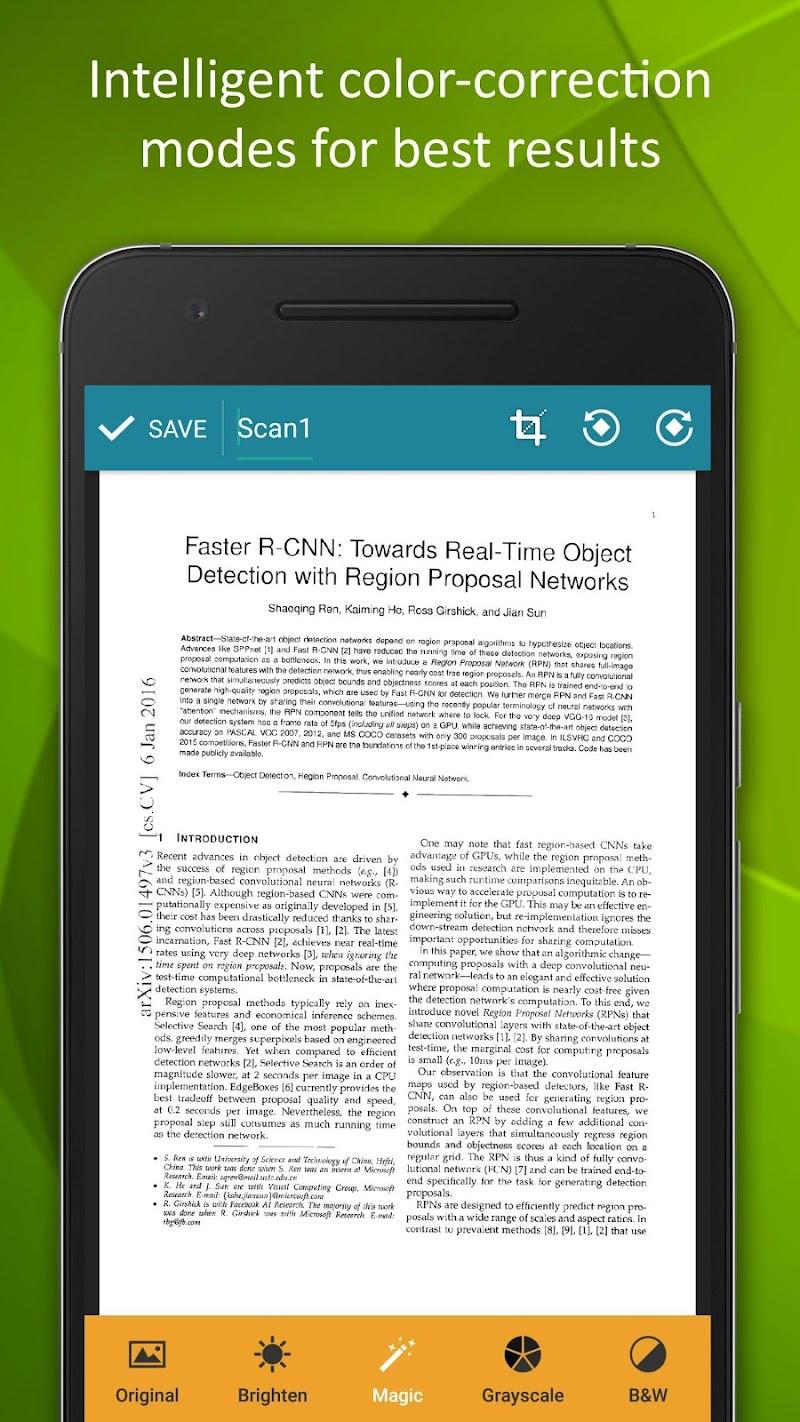 Smart Doc Scanner: Free PDF Scanner App Screenshot 2