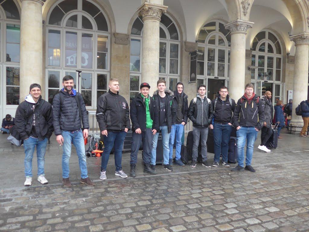 Photo: Ankunft in Paris