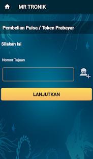 App MR TRONIK - Server, Pulsa, Kuota, PLN, & all PPOB APK for Windows Phone