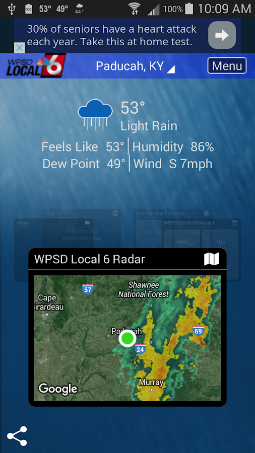 WPSD Radar- screenshot