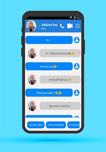 Addison Rae Fake call screenshot 3
