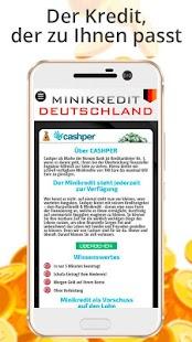 Minikredit Deutschland - náhled