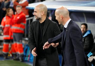 Pep Guardiola admire Zinedine Zidane