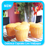 Delicious Cupcake Live Wallpaper APK icon