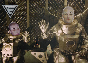 Photo: 1999 -- Dr. Evil & his miniature clone, Mini Me, from Austin Powers 2. We both SHAVED our heads for this costume.