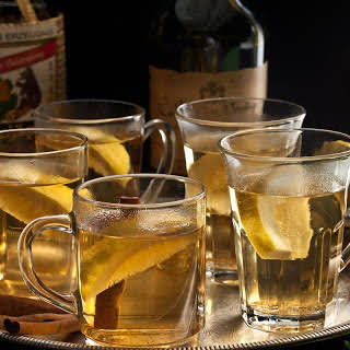 Apple Brandy Hot Toddy.