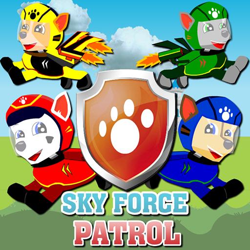 Paw Puppy Sky Force Patrol