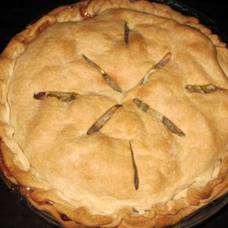 Simple Midwestern Apple Pie