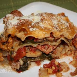 Crock Pot Lean Turkey Lasagna.