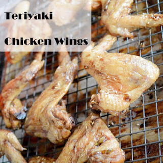 Baked Salty Teriyaki Chicken Wings
