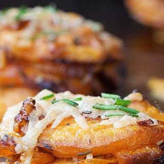 Rosemary Sweet Potato Stackers #Recipe