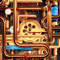 Cool Wallpapers and Keyboard - Steampunk Pipes icon