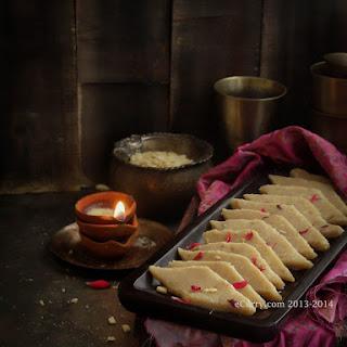 Badam Katli/Almond Fudge