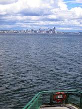 Photo: Ferry from Bainbridge Island to Seattle.