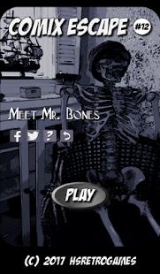 Comix Escape: Meet Mr. Bones - náhled