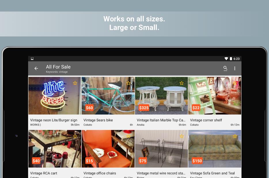 Postings (Craigslist Search App) screenshot 5