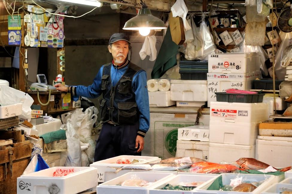 Tokyo, Tsukiji