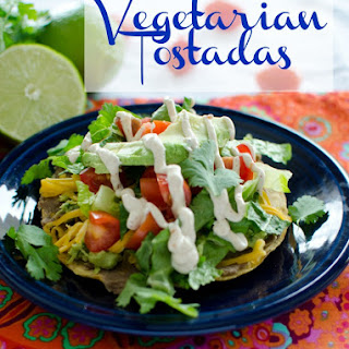 Vegetarian Tostadas Recipe