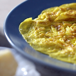 Omelette with Parmesan