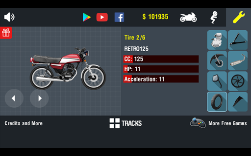 Tuning Moto 0.15 screenshots 3