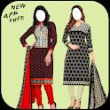 Women Cotton Salwar Kameez Photo Suit icon