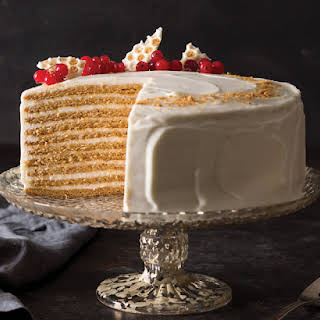 10-Layer Spiced Russian Honey Cake.