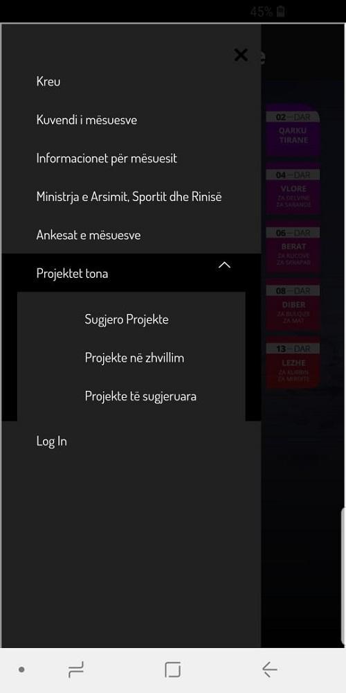 Скриншот Shkolla Ime