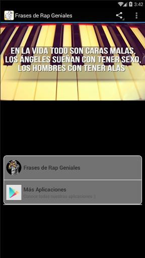 скачать Frases De Rap Geniales Google Play Apps