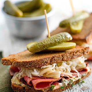Ultimate Grilled Reuben Sandwich.