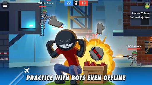 Stickman Combats: Multiplayer Stick Battle Shooter apktram screenshots 13