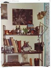 Photo: Уголок кабинета на ул. рю Лабрюйер, Париж, 1975