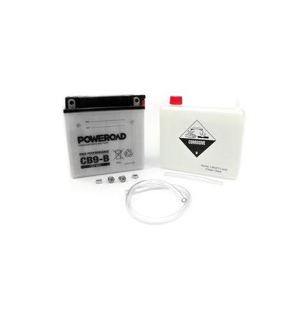 YB9-B, MC vätskebatteri 9Ah