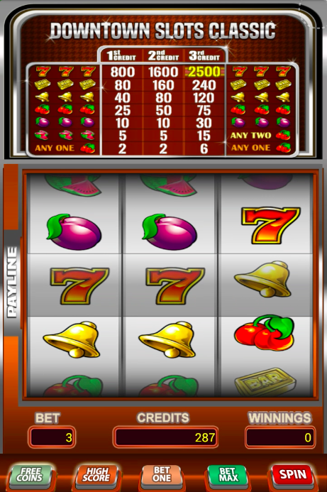Downtown video slots