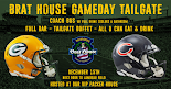 Green Bay vs Chicago  12/15/19 Lambeau Field VIP Tailgate Party + Coach Bus