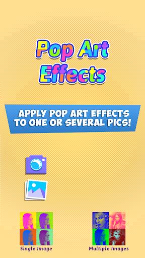 Pop Art Photo Wonder Effects