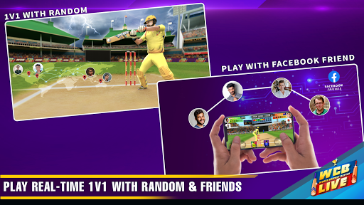 WCB LIVE Cricket Multiplayer:Play Free 1v1 Matches screenshots 17