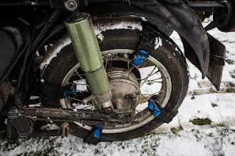 Photo: Selfmade Schneeschuhe