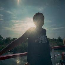 Photo: l'Elia a bord!