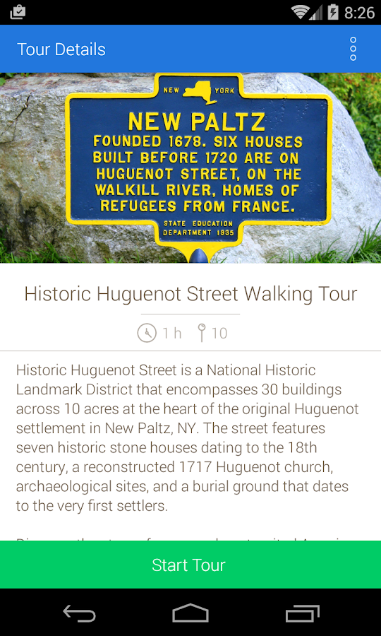Historic Huguenot Street- screenshot