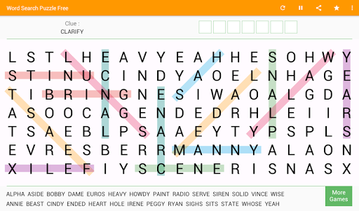 Word Search - Free Word Game 8.0 screenshots 11