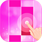 Pink Piano Tiles 2 : magic music