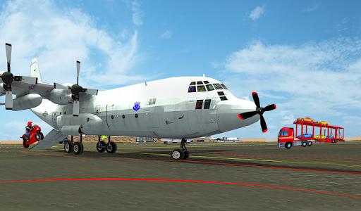 Airplane Car Transport Simulator Drive 1.0 screenshots 2
