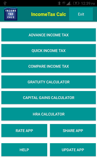 Income Tax Calculator  screenshots 1