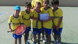 Los campeones de Andalucía.