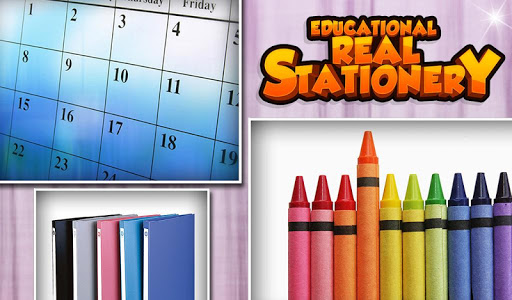 Educational Real Stationery v1.0.0