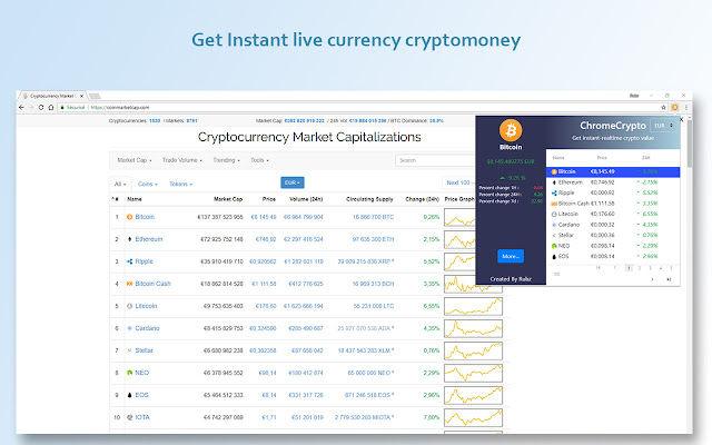 Live Crypto Currency